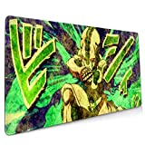JOJO'S BIZARRE Eyes Of Heaven Extended Gaming Mouse Mat, DIY Custom Professional Mouse Pad (35.5x15.8In), Stitched Edges,Desk Pad Keyboard Pad Mat, Water-Resistant, Non-Slip Base, For Work & Gaming