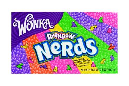 Wonka Rainbow Nerds 141g (Pack of 6) by Nerds