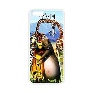 Printed Madagascar Phone Case For iPhone 6 Plus 5.5 Inch NC1Q03091