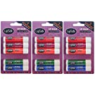 Lipsilk Flavoured Lip Balm Balms For Dry Chapped Lips (3 x 5 Pack)