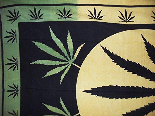 Traditional Jaipur Bob Marley Psychedelic Herbal Weed ~ Rasta ...