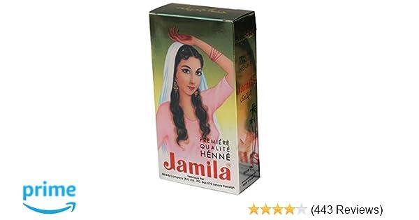 bfbf5c4639eda Amazon.com : Jamila Henna Powder, 100 grams : Hair Hennas : Beauty