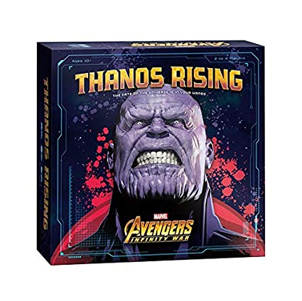USAOPOLY Thanos Rising: Avengers Infinity War Cooperative Dice and Card  Game | Marvel Avengers Endgame and Avengers Infinity War Movies |  Collectible