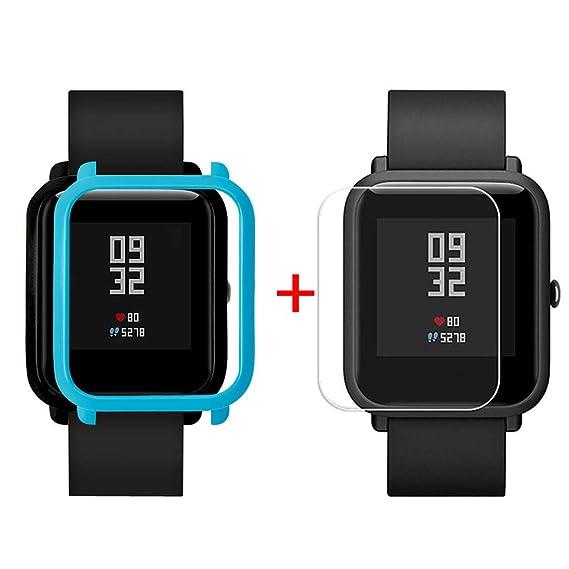 Amazon.com: XIANAER Smart Watch Case Cover Shell for Xiaomi ...