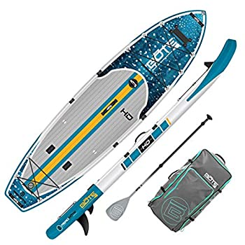 """BOTE HD Aero Inflatable Stand Up Paddle Board 11'6"""" with Accessories"""