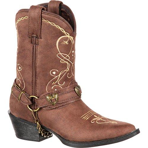Durango Baby DBT0135 Western Boot, Brown, 10 M US Toddler