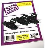 SHARP EL-1801V Ink Rollers - 3 Pack - Black Red Compatible