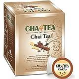 Cha4TEA Chai Black Tea K Cups for Keurig K-Cup, 36 Count