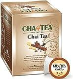 k cup chai latte - Cha4TEA Chai Black Tea K Cups for Keurig K-Cup, 36 Count
