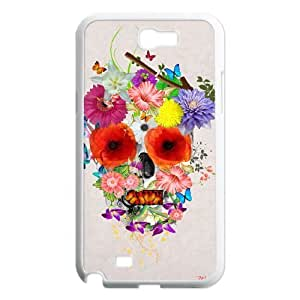 Custom Colorful Case for Samsung Galaxy Note 2 N7100, Skull Cover Case - HL-R635855 wangjiang maoyi