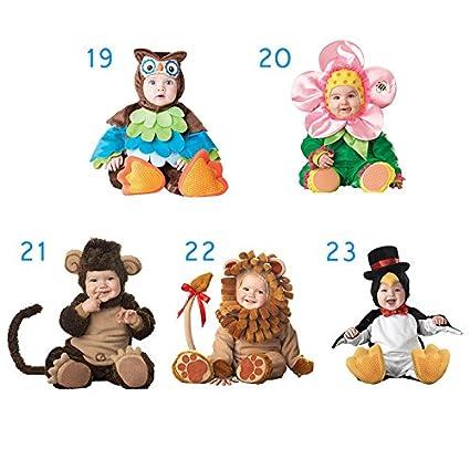 18 PerGrate perg Transferencia Navidad Halloween Infant Baby Jumpsuit Animales para Ropa Disfraz Dressing Baby Boy 80