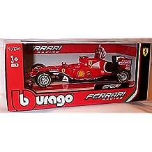 burago red ferrari SF15-T Kimi Raikkonen F1 2015 racing car 1.24 scale diecast model by burago