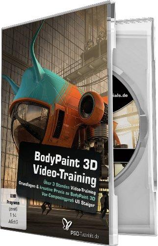Maxon BodyPaint 3D-Video-Training (PC+Mac+Tablet)