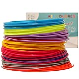 3D Pen / Printer Filament Refill Pack 1.75mm Diameter 20 Different Colors Glow-In-The-Dark PLA Plastic 32 ft Per Color 656 Linear Feet