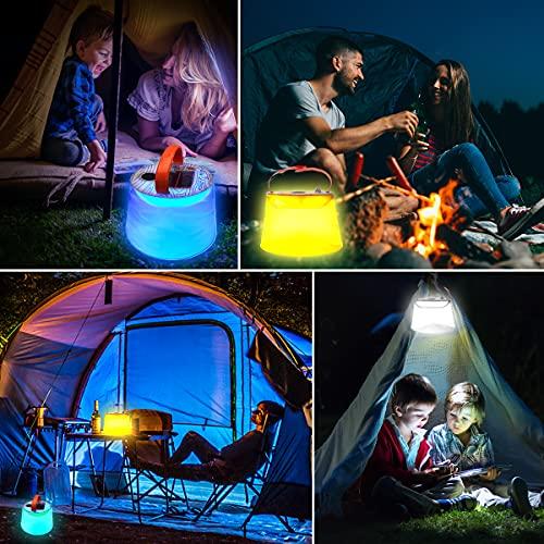 GreenSun Linterna solar accionada por USB Solar Powered LED linterna de camping