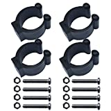 4 PCS Kayak paddle clip paddle holder paddle keeper VERTICAL MOUNTED NO SIDE MOUNTED