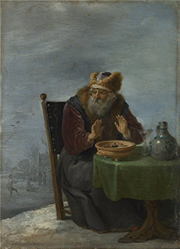 Oil Painting 'David Teniers The Younger - Winter,about 1644', 20 x 28 inch / 51 x 70 cm , on High Definition HD canvas prints is for Gifts And Basement, Game Room And Nursery Decoration (Tankless Water Heater Eco 24 compare prices)
