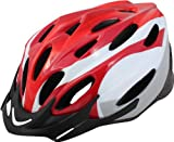 Rhoads Spring Bicycle Helmet, Red/Grey/White, Adult