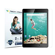 Nexus 9 Screen Protector, Tech Armor High Definition HD-Clear Google Nexus 9 Film Screen Protector [2-Pack]