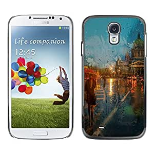 Hot Style Cell Phone PC Hard Case Cover // M00100763 in art rain the i // Samsung Galaxy S4 i9500