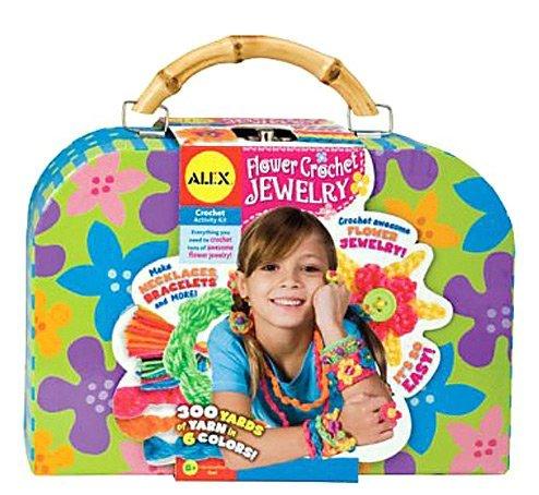 ALEX Toys Flower Crochet Jewelry Kit 387