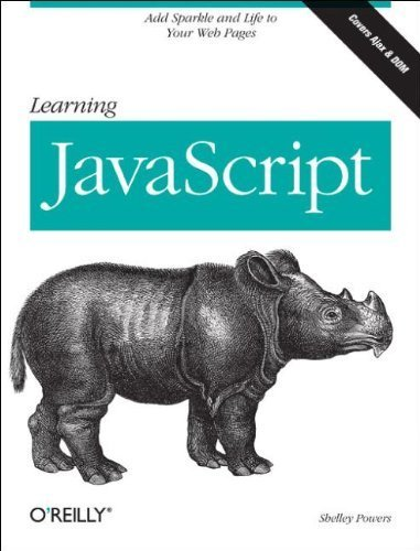 Learning JavaScript by Shelley Powers (2006-10-27)