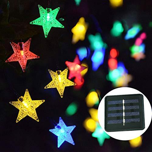 Outdoor Solar String Lights Stars in US - 7
