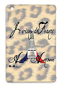 White Paris French Countries Flags Love France Cities For Ipad Mini Protective Hard Case
