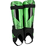 adidas Performance Messi 10 Youth Shin guard, Solar Lime Green/Black, Small