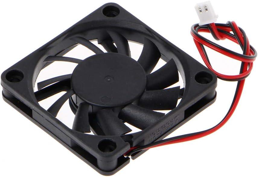 Sleeve-Bearing Cooling Fan PC Computer CPU System 6010-24V 2-Pin 60x60x10mm MANGKE