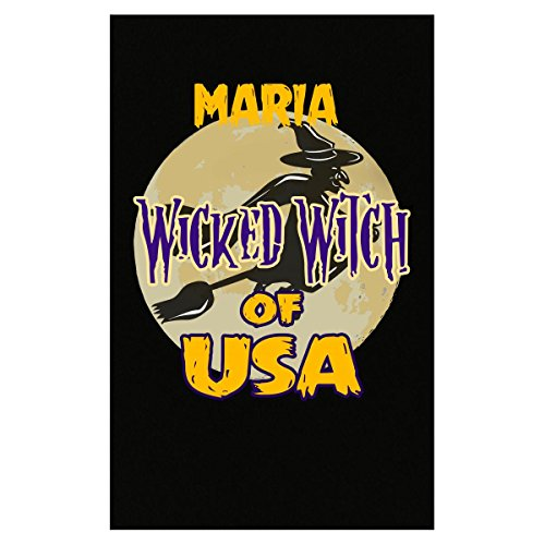 Maria Halloween Costume (Halloween Costume Maria Wicked Witch Of Usa Great Personalized Gift - Poster)