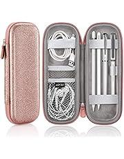 AGPTEK Apple Pencil 2 Case Holder, Premium Carrying Case for Stylus iPad Pro Pen, Pencil, Samsung, Huawei, Apple Pen Accessories, USB Cable, Earphone, Fountain Pen