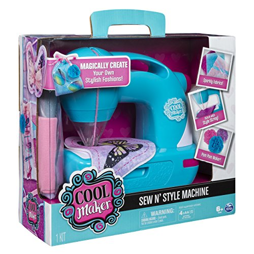 51AN38VIAOL - Cool Maker - Sew N' Style Sewing Machine with Pom-Pom Maker Attachment (Edition May Vary)