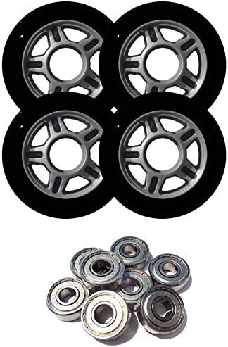 Wheel Inline Skate with Ball Bearings 82mm