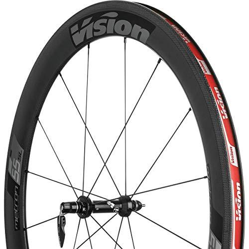 VISION Metron 55 SL Clincher Wheelset Black Decal, Shimano/SRAM, 11 Speed