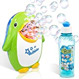 ArtCreativity Penguin Bubble Machine with 8oz Bubble Solution, Cute Powerful Automatic Bubble Maker Toy for Kids and Parties, Simple and Easy to Use, Best for Wedding, Birthday Party, DJ, Baby Shower