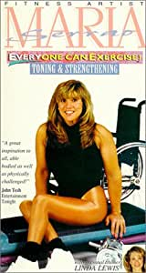 MARIA SERRAO: Everyone Can Exercise - Toning & Strengthening [VHS]
