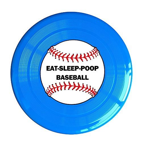 Uhouq Eat Sleep Poop Baseball Frisbee Size One Size - Sunglasses Blues Brothers Quotes