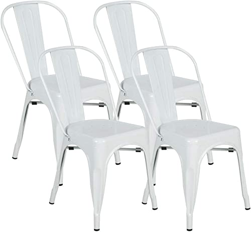 BONZY HOME Metal Dining Chair