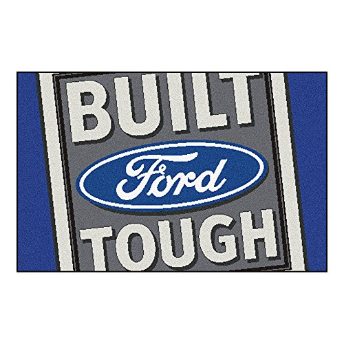 FANMATS 15927 Built Ford Tough Starter Rug