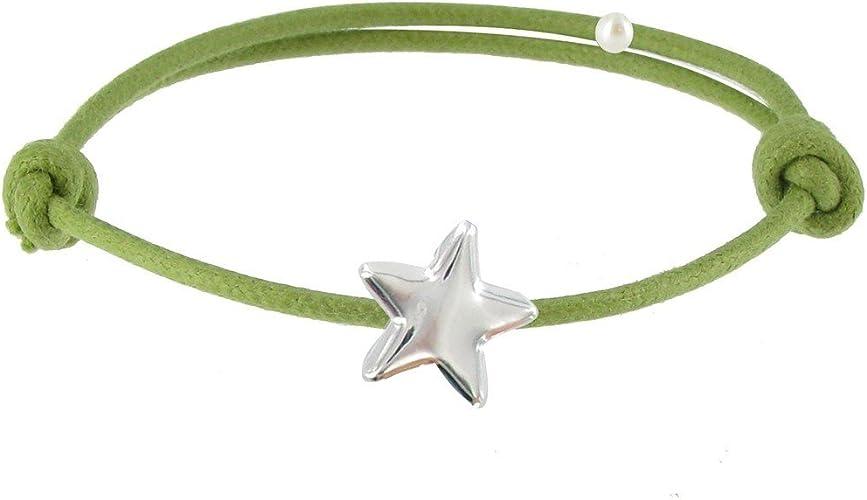 pulseras de plata con estrellas