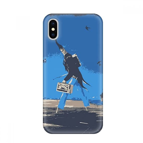 Amazon Com Cartoon Blue Background Grotesque Illustration