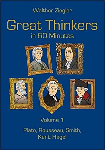 Book Great Thinkers in 60 Minutes - Volume 1