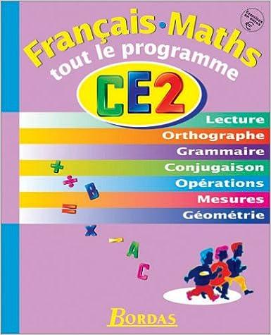 Livres français faciles à télécharger gratuitement TOUT LE PROGRAMME CE1 (EX. EN EUROS)    (Ancienne Edition) PDF