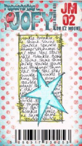 JOFY Mini Paper Artsy Tampon de caoutchouc non mont/é Mini JOFY02