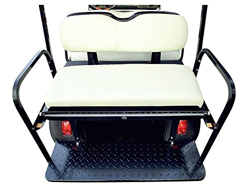 TYSE CCDS2-Rear Flip Seat Club Car DS-White 1982-2000 -