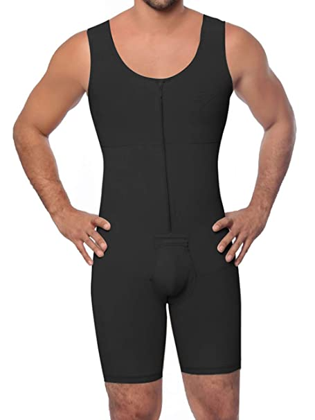 mens shapewear mens full body compression suit