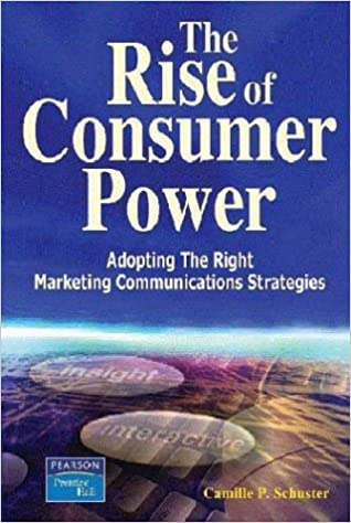 do you see the rise of consumer power through evolving changes in technology