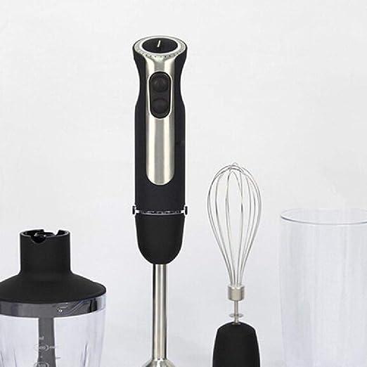 GGYYY Licuadora Smoothie del Fabricante, Profesional encimera batidora, Las Cuchillas para Hielo, nueces y Mantequilla de, Black-OneSize: Amazon.es