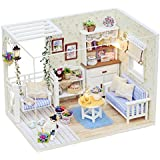 debieborahtoys DIY Dollhouse With Furnitures Wooden House Toys For Children Birthday Gift